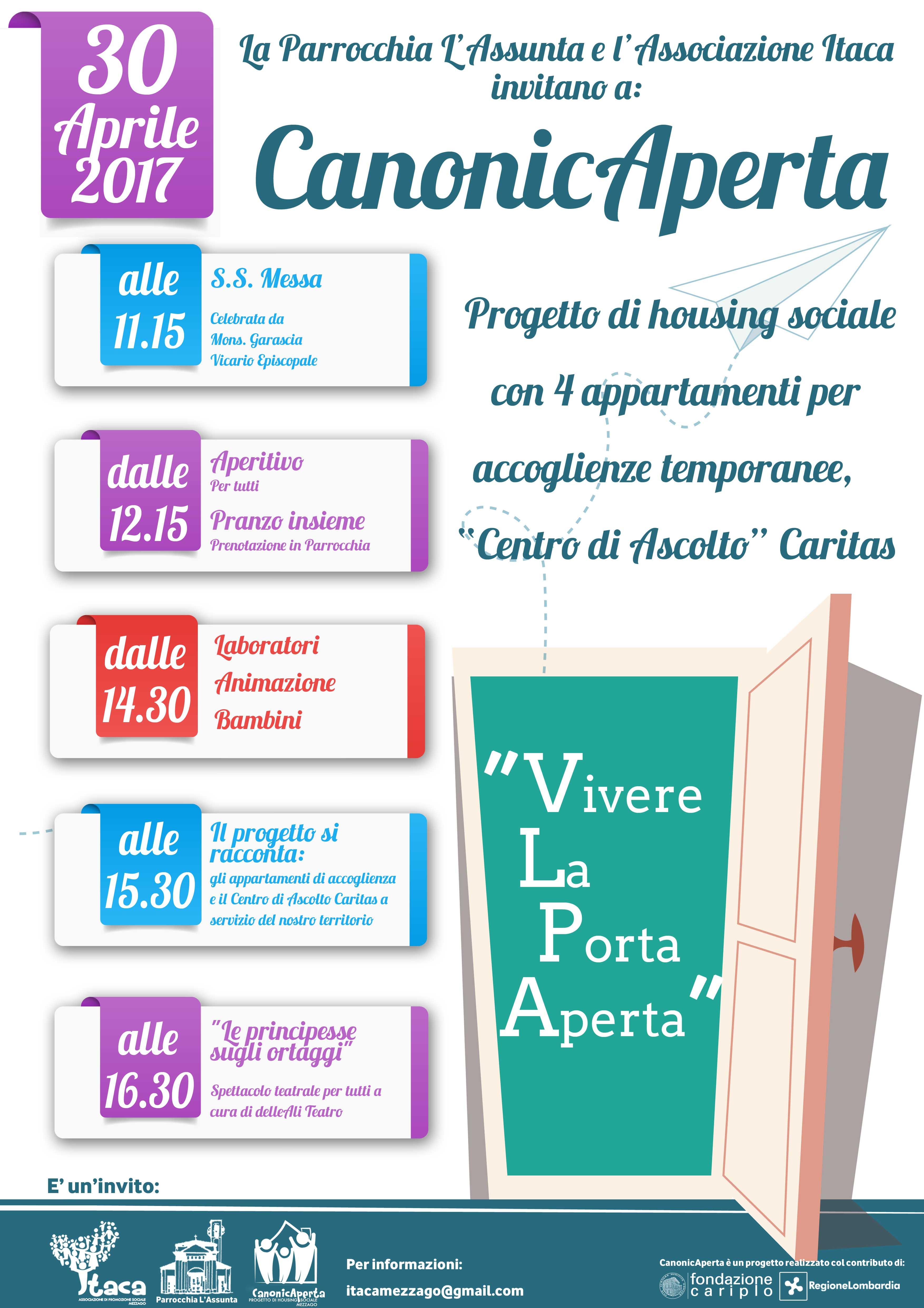 Inaugurazione CanonicAperta